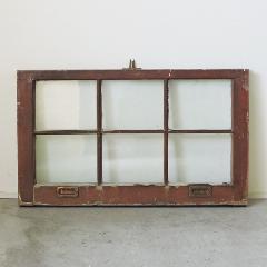 アンティークガラスウィンドウ GWR-B32 W763×H453×T37