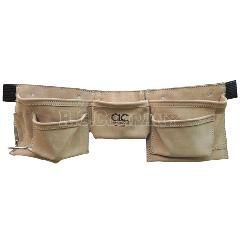 ワークエプロン 8ポケット CLC(スエード皮製)