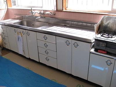 施工前:キッチン