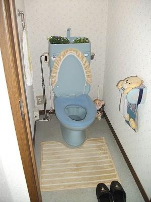 【2Fトイレ】 施工前