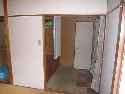 施工前〔2F和室(中)〕