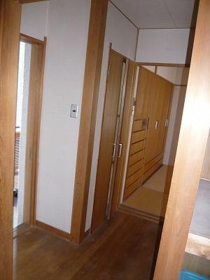 施工前〔2F和室(廊下)〕
