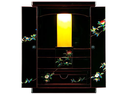 輪島塗仏壇「椿」画像1
