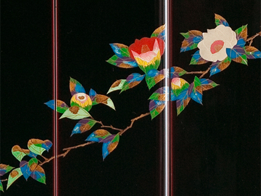 輪島塗仏壇「椿」画像2