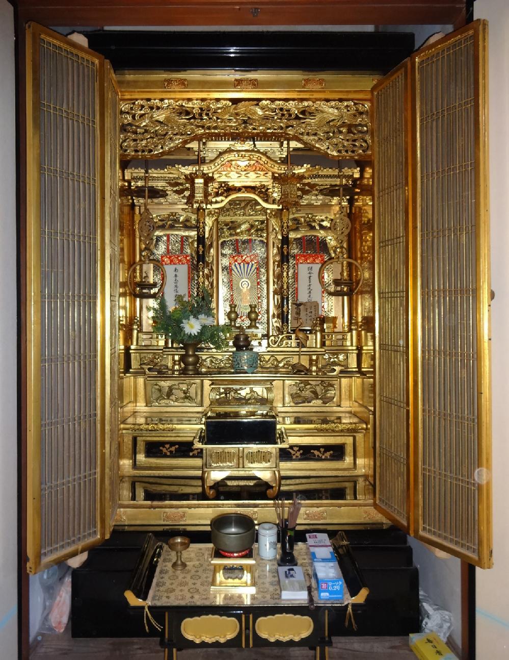 大阪市 S様 御修復前のお仏壇