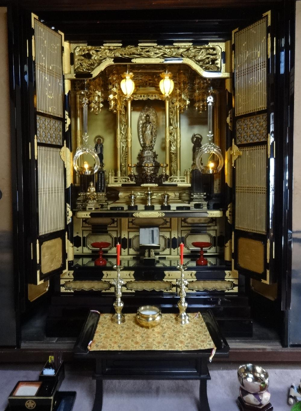 岸和田市 O様 御修復後の彦根型仏壇