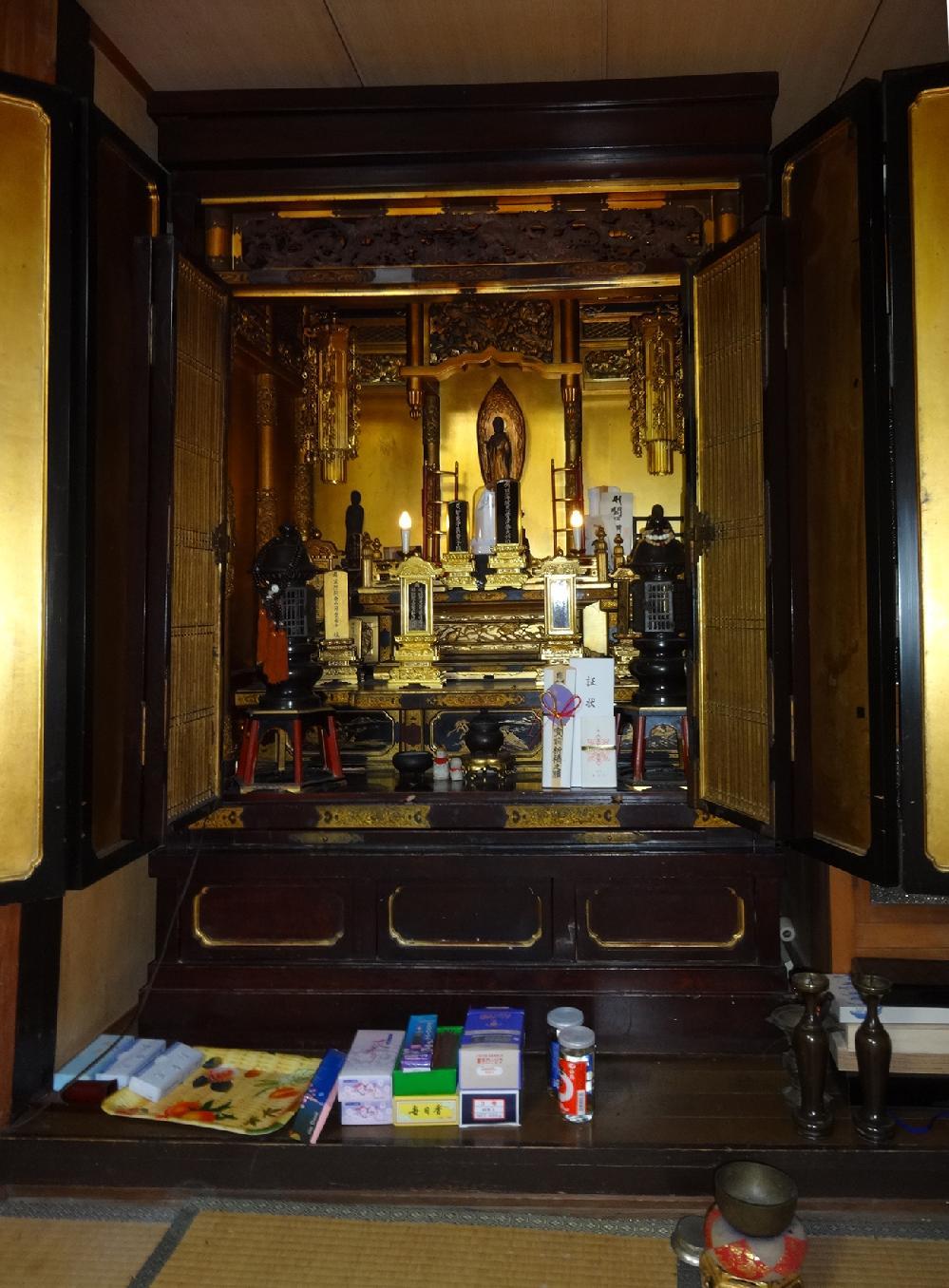 和泉市 N様 御修復前のお仏壇