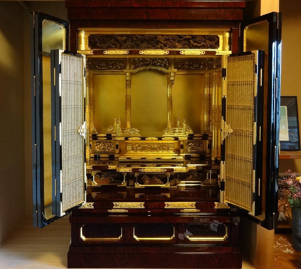 和泉市 N様 御修復後のお仏壇
