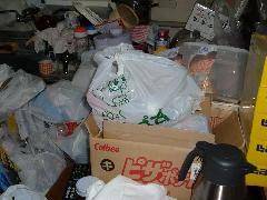 管理会社からの依頼でゴミ屋敷の見積もり。