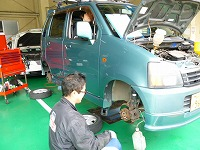 ワゴンR 車検整備