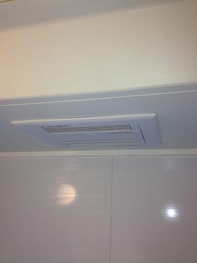 府中市西新町 浴室暖房新規取付工事