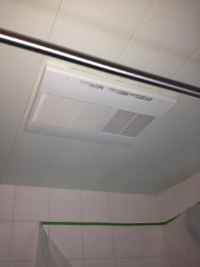 大田区山王 浴室乾燥機の交換工事