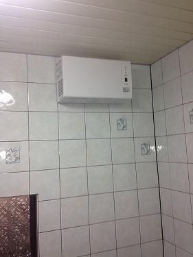 海老名市国分北 浴室暖房新規取付工事