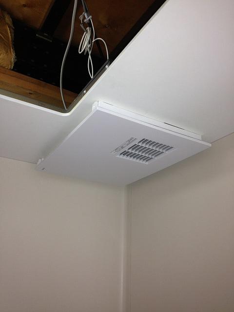 相模原市中央区上溝 浴室暖房新規取付工事