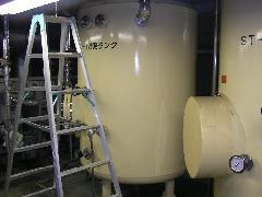 多摩市社会福祉施設 貯湯槽清掃