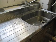 新宿区 マンション キッチン シンク 清掃