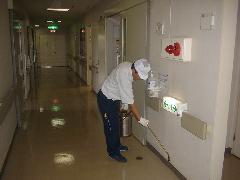 立川市内病院 害虫駆除定期施工