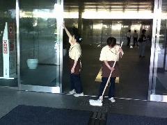 東京都 新宿区 ビジネスオフィスビル 日常清掃