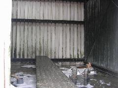 立川市テナントビル クーリングタワー清掃