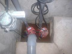 立川市商用ビル 排水ポンプ交換