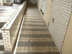 東京都 世田谷区 マンション 共用部通路 洗浄