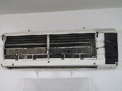 豊島区池袋オフィス エアコンフィルター清掃