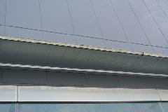 千葉県 香取市道の駅 軒及び壁面汚れ高圧洗浄清掃