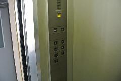 強アルカリイオン電解水使用によるエレベータースイッチの掃除(清掃) ・除菌  東建社 東京