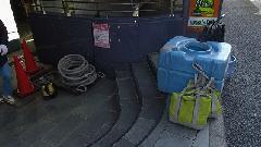 昭島市テナントビル 貯水槽清掃