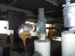 国立市福祉施設 冷温水発生機安全弁 交換修繕