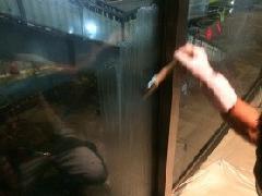 東京都渋谷区テナントガラス 遮熱コーティング