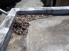 小平市公共施設 ルーフドレン清掃