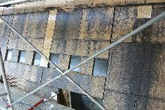 東京都 公共施設 外壁高圧洗浄(石材高圧洗浄)