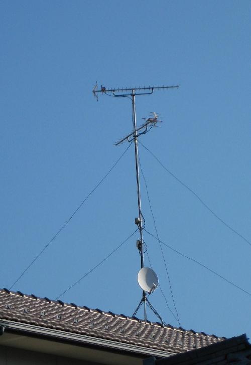 UHF+UHF+BS+ブースター
