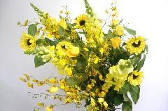 黄色い花束(ミックス)