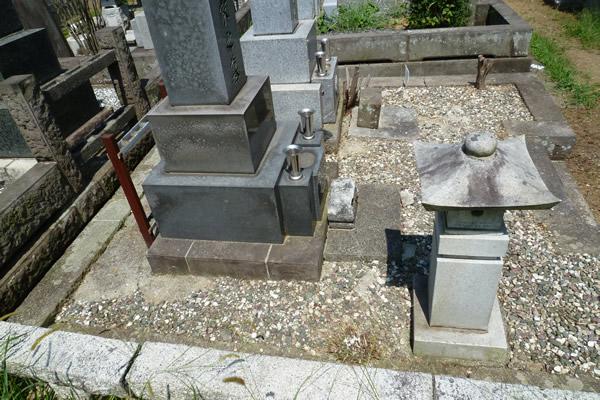 お墓・墓石の掃除