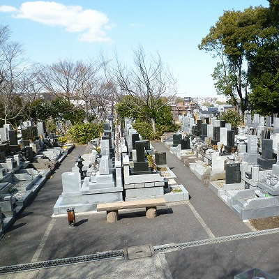 日野公園墓地見学会