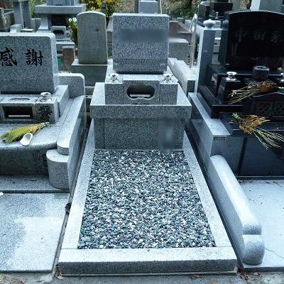 日野公園墓地建墓