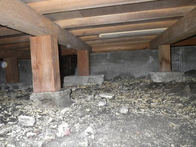 堺市中区中古物件の床下状況写真