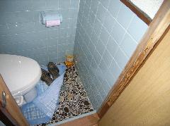 トイレ柱、床下残材 シロアリ駆除 大阪市