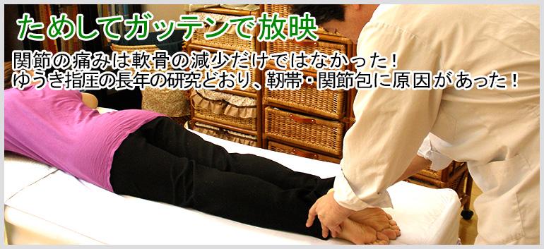 膝・股関節の専門治療院