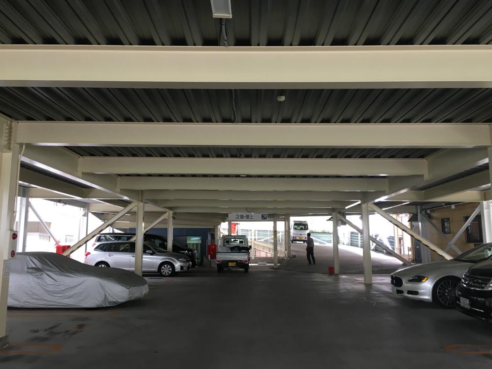 大阪市 立体駐車場